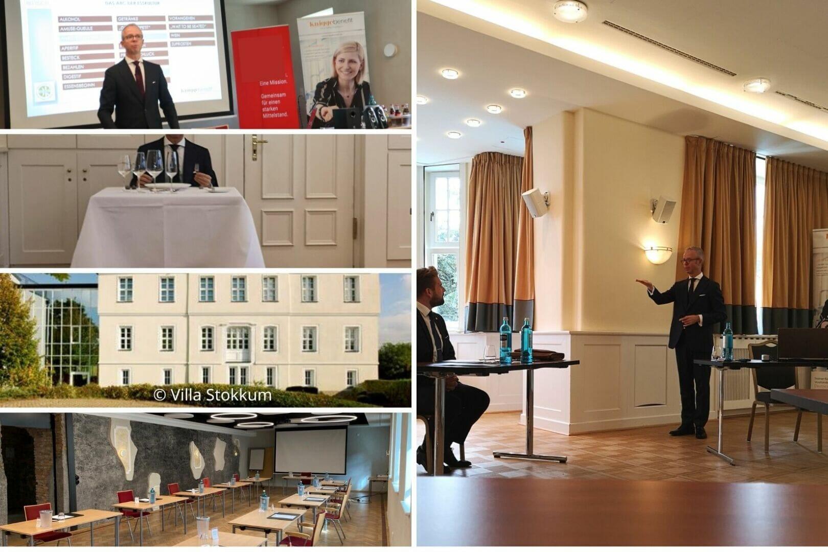 Business-Knigge-Kurse in der Villa Stokkum Hanau mit Michael Mayer