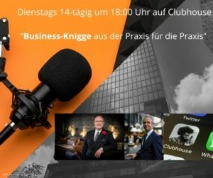 Knigge-Talk auf Clubhouse