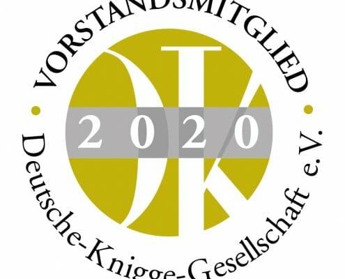 Siegel der Deutschen-Knigge-Gesellschaft 2020