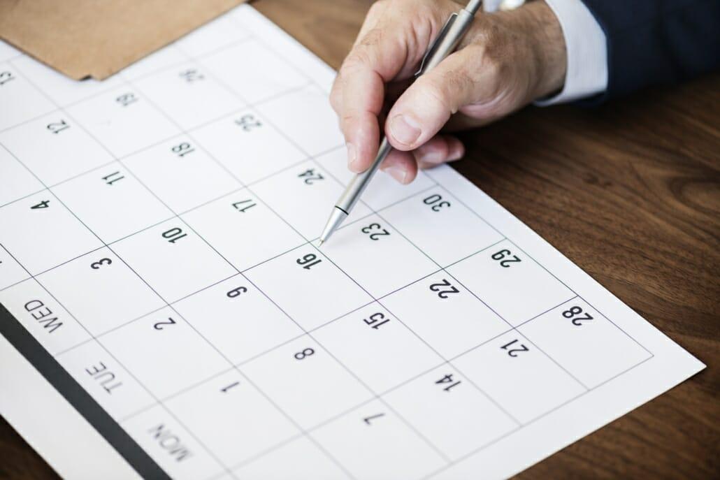 Neujahr Kalender Gutes Neues Jahr